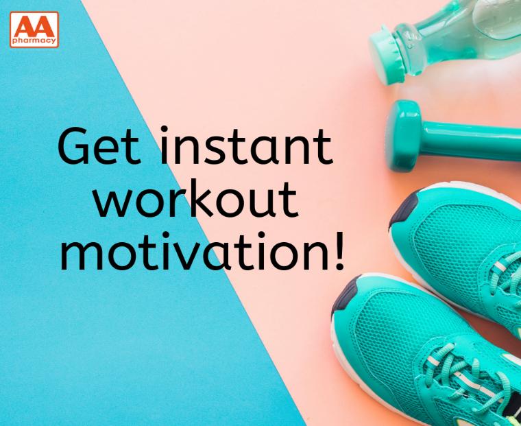Get Instant Workout Motivation