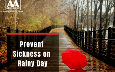 Prevent Sickness on Rainy Day